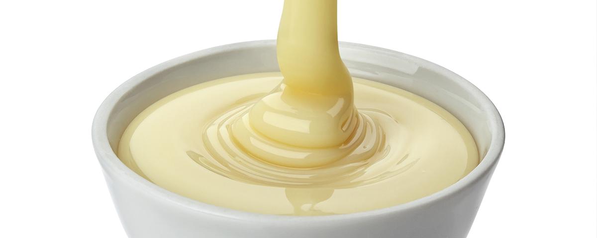 Leite condensado com leite em pó